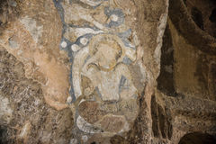 Afghan caves housing the world's oldest oil paintings Royalty Free Stock Images