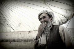 Afghan elder. An Afghan elder in Pol-e Alam, Logar Province, Afghanistan Stock Photography