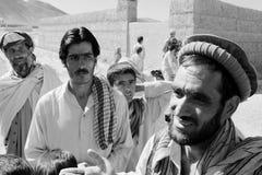 Afghan farmers stock image
