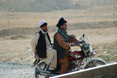 Afghan Men Stock Photography