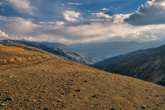 Afghan mountains Stock Image