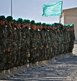Afghan National Army Boot Camp Graduation Stock Images
