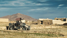 Afghan national army vehicle Stock Images