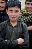 afghan pojke Royaltyfri Fotografi