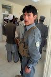 Afghan policeman Royalty Free Stock Image