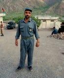 Afghan policeman Stock Photography