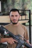 afghan soldat Royaltyfri Foto