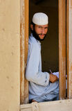 Afghan student royalty free stock image