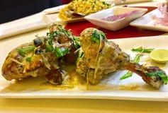 Afghani kurczak Obrazy Royalty Free