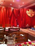 Afghani restauracyjny Londyn Obrazy Royalty Free