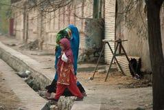 Afghanische Frau und Mädchen Lizenzfreie Stockfotografie