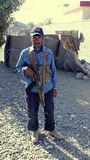 Afghanische Sicherheitskraft stockbild