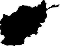 afghanistan översiktsvektor