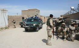 Afghanistan-besondere Kräfte Stockfotos