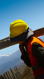 Afghanistan construction worker young boy Stock Photos