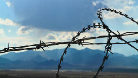 Afghanistan - Country behind the fence Stock Photos