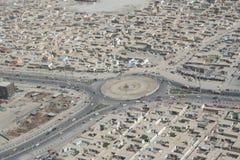 Afghanistan door de lucht Stock Fotografie