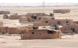 Afghanistan - Dorf Lizenzfreie Stockfotos