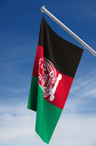 Afghanistan Flag. The Afghanistan flag with clipping path royalty free illustration