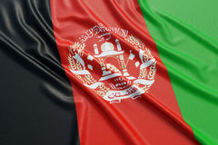 Afghanistan flag Royalty Free Stock Photography
