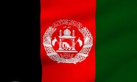 afghanistan flagga Royaltyfria Foton