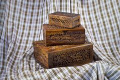 Afghanistan keepsake boxes Stock Image