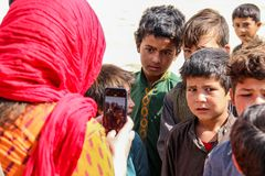 Free Afghanistan Refugee Children Village Life In Badghis Stock Photos - 162057073