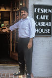 Afghanistan restaurant owner in Old Town Alexandria, Alexandria, Washington, DC Royalty Free Stock Images