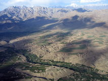 Afghanistan valley Royalty Free Stock Image