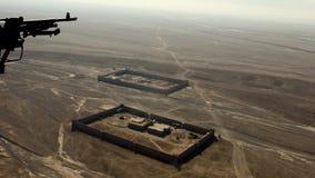 Afghanistan van hierboven Stock Foto