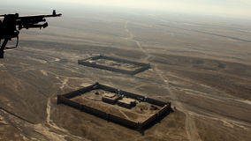 Afghanistan von oben stockfoto