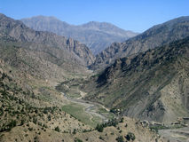 afghanistan wysoko osamotniona przepustka obraz royalty free