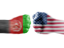 Afghanistan x USA Stock Images