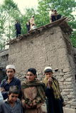 Afghans in Azra district, Loga Province Stock Image