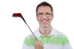 Afición del golf foto de archivo