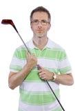 Afición del golf imagen de archivo