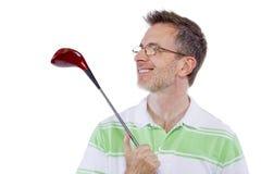 Afición del golf imagenes de archivo
