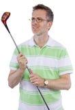 Afición del golf fotografía de archivo libre de regalías