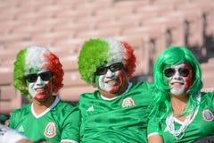 Aficionados al fútbol durante Copa América Centenario Fotos de archivo libres de regalías