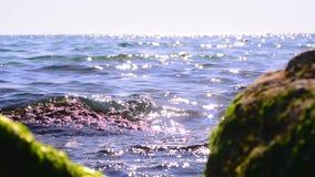 afield vulcan gammal seascape för uddkaradagmeganom stock video