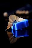 Afiladura del lápiz B Fotos de archivo libres de regalías