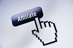 Afiliado en WWW Imágenes de archivo libres de regalías