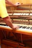 Afinador de piano fotos de stock royalty free
