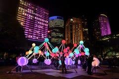 Afinidade em Sydney vívido Imagens de Stock Royalty Free