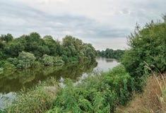 河Afips 库存照片