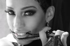 afircan amerykańska kobieta Fotografia Royalty Free