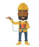 Afircan elektryka mienia władzy kabla prymka Obraz Royalty Free