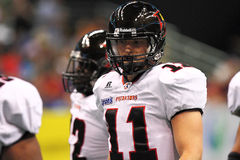 AFL: APR 02 Orlando Predators at Arizona Rattlers Royalty Free Stock Photos