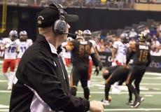 AFL Arizona Rattlers donnent des leçons particulières à Kevin Guy Photo libre de droits