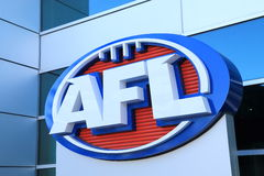 AFL Australian football Royalty Free Stock Photo